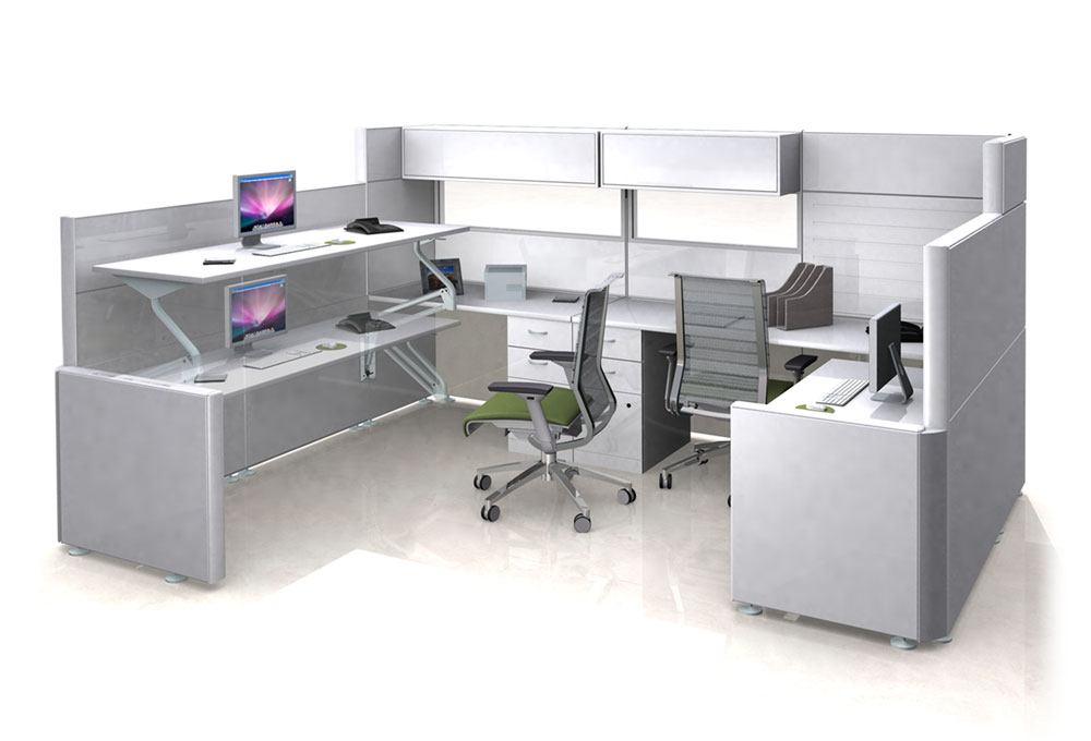 3D Desking Render and Animation